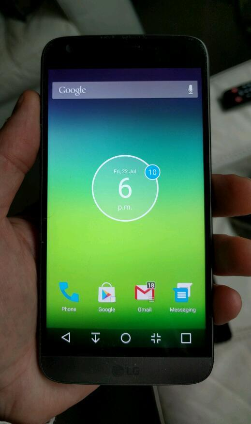 Unlocked sim free lg g5 with receipt
