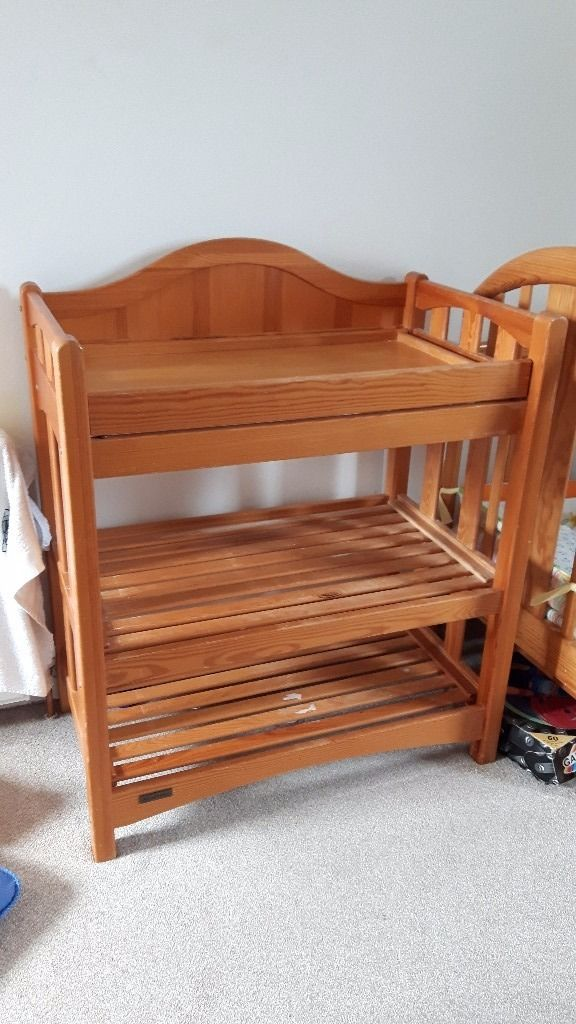 Changing table free to a good home. Used condition but solid wood so can be done up if required.