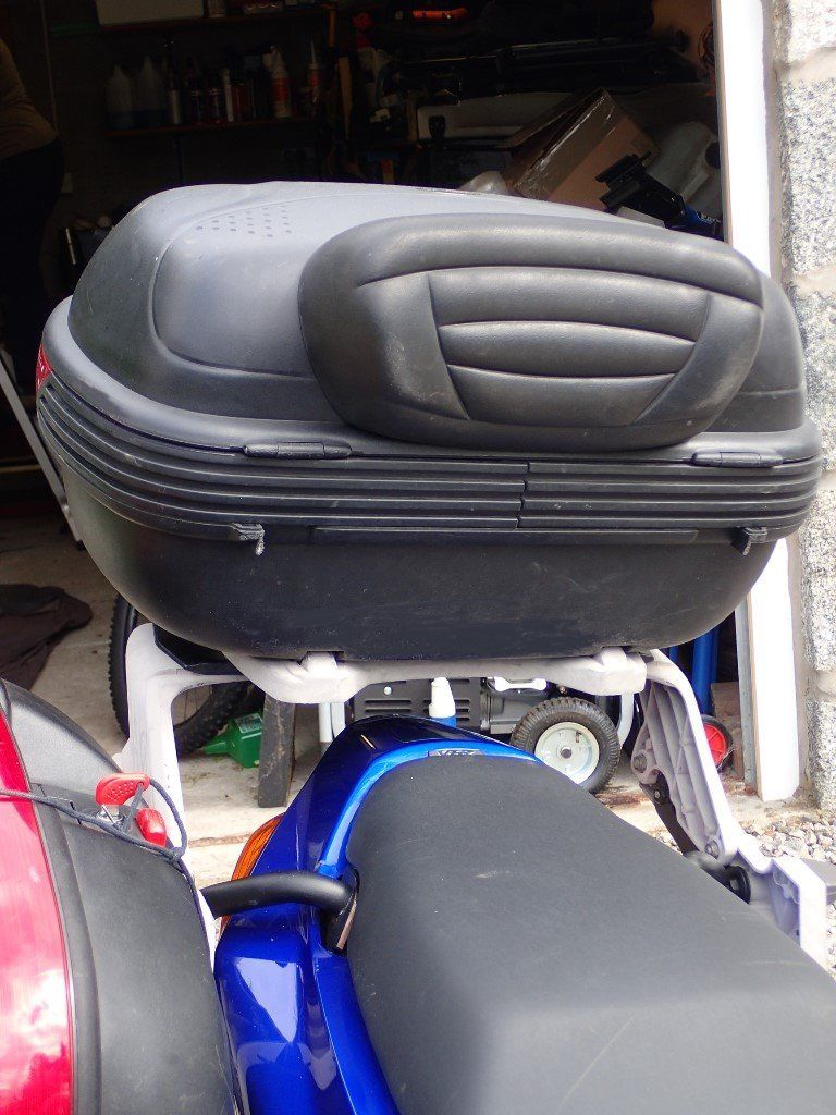 Givi Motorcycle Panniers & Top Box, with WingRack2 frame, for Honda VFR800Fi