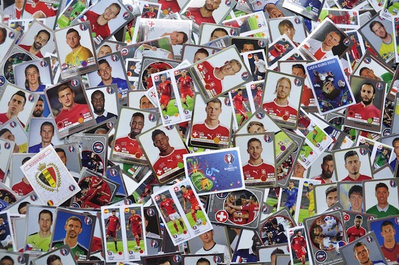 SALE-SALE! PANINI EURO 2016 FRANCE DOUBLE STICKERS FOR SALE!