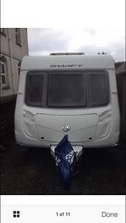 Swift Charisma 570 .. 6 Berth Caravan in immaculate condition !