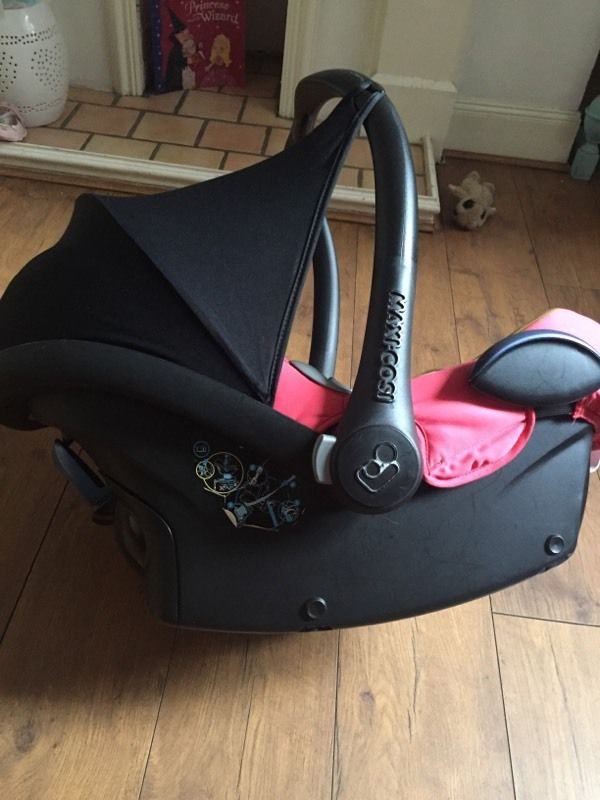 Maxi cosi car seat excellent used condition