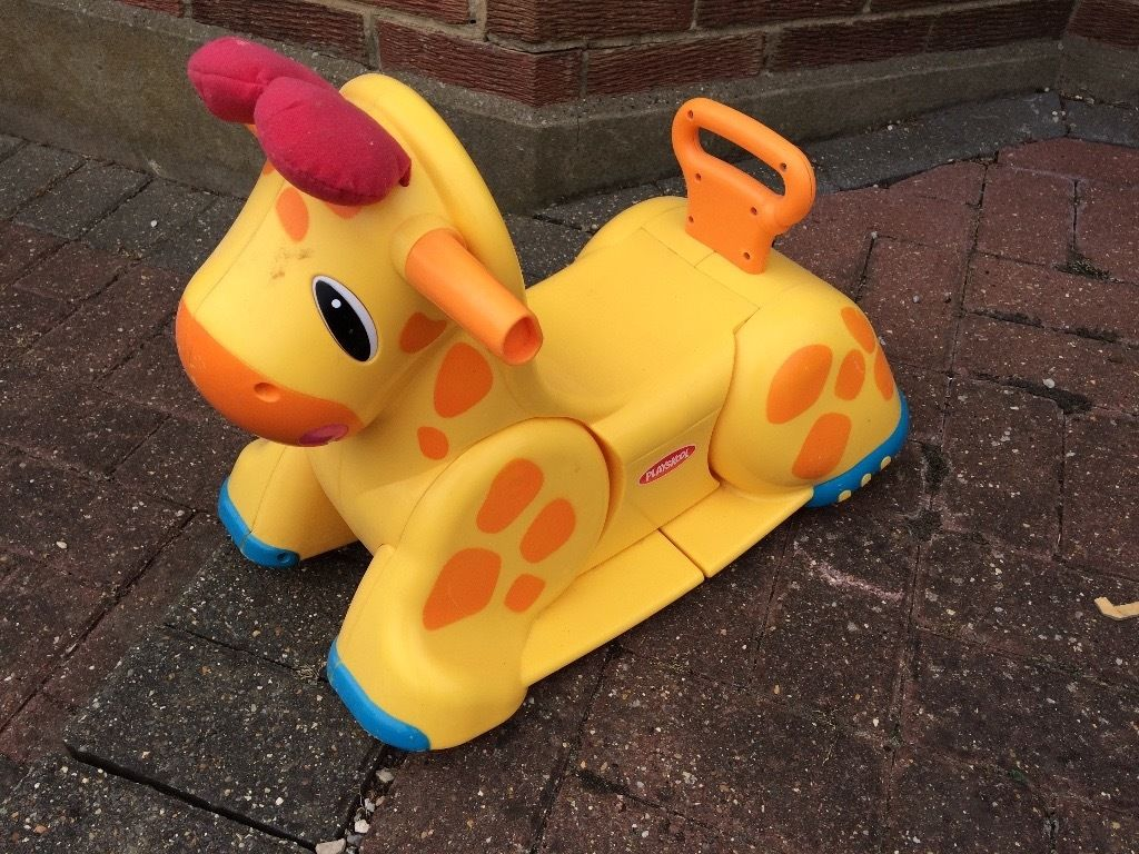 Playskool ride on giraffe