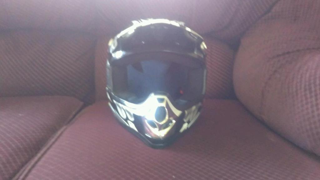 Junior crash helmet