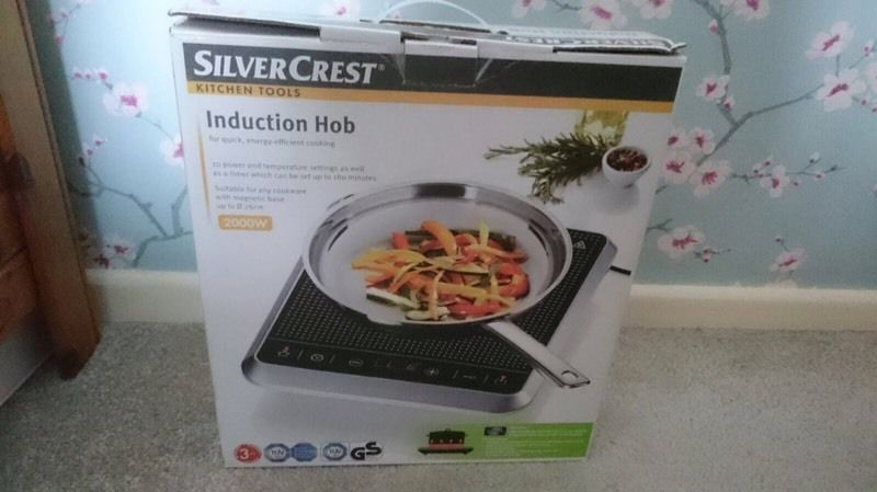 Induction hob- new in box. Unwanted gift