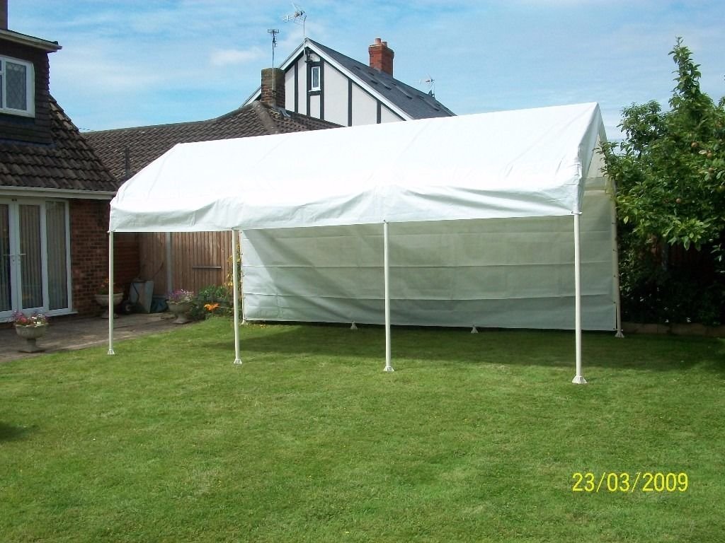 6m x 3m Gazebo / awning / car port cover