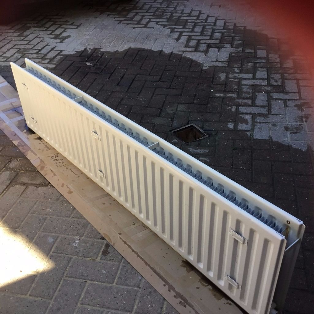 CH Double Radiator with fins.