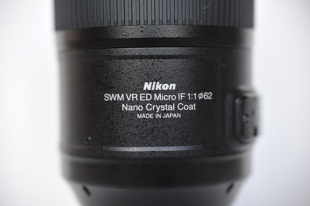 Nikon AF-S VR Micro/Macro 105mm f/2.8G IF-ED lens, Mint condition, Rare made in Japan version, boxed