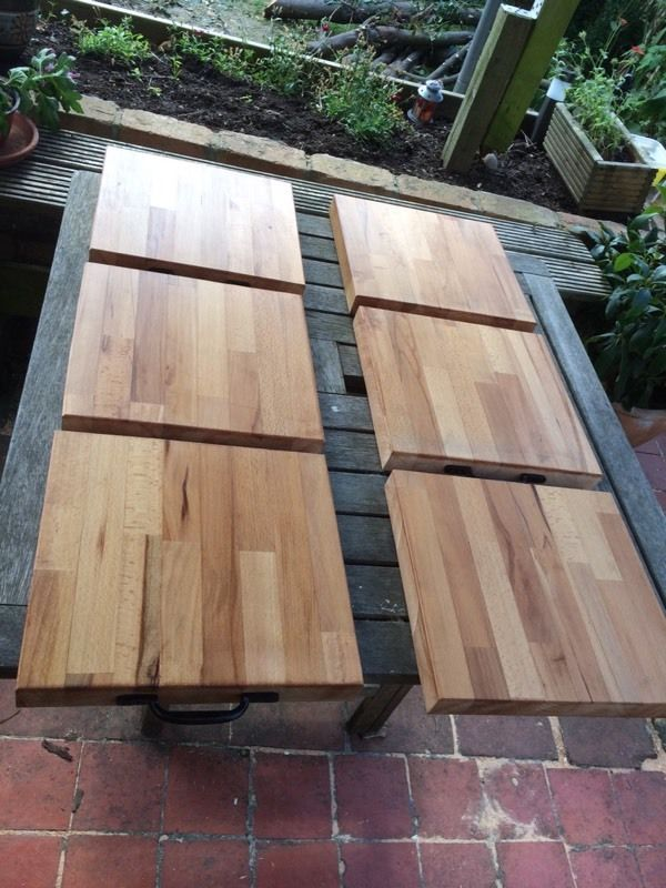 Solid Beech Chopping Boards