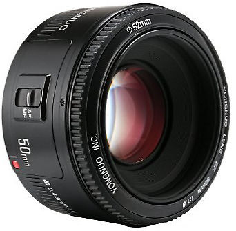 Yongnuo 50mm F1.8 Lens Canon Fit (EF Fit)