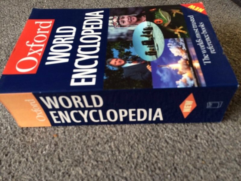 Oxford World Encyclopaedia - Free to Collect