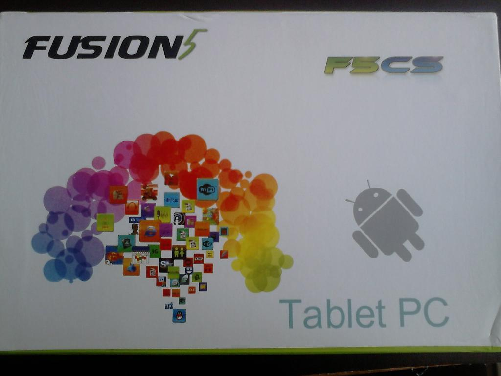 Fusion 5 tablet, fully working