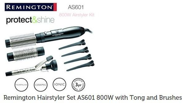 Remington Protect&Shine 800w airstyler kit - NEW & UNUSED