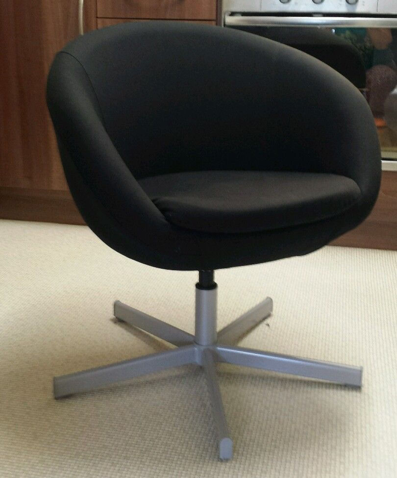 IKEA SKRUVSTA Swivel Chair Black