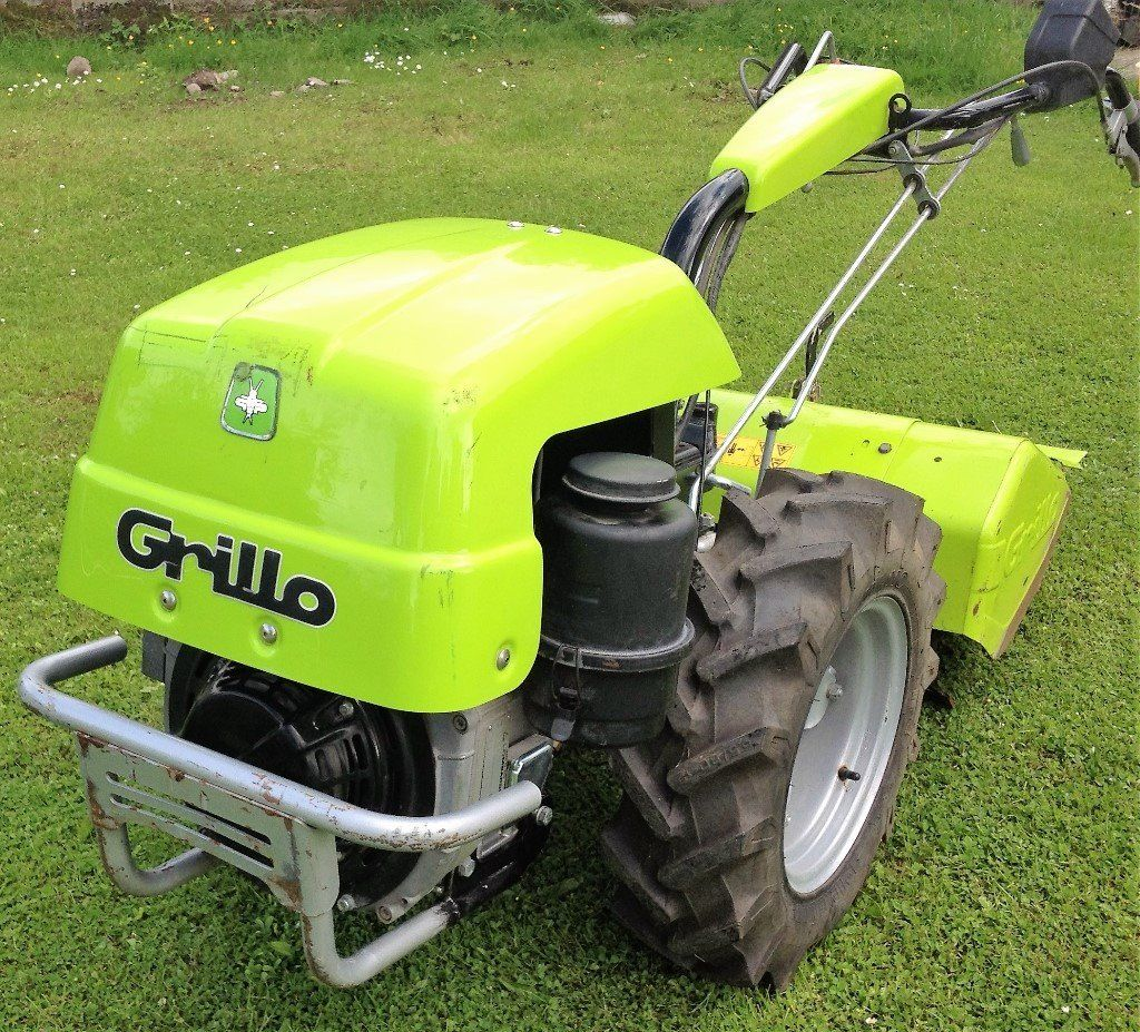 ROTAVATOR-Rotovator Grillo 12.2Hp Walking Tractor with Rotavator attachment- BARGAIN