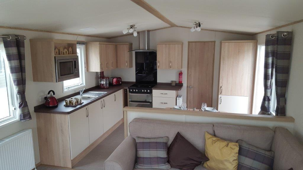 gorgeous brand new top quality static caravan wemyss bay scotland