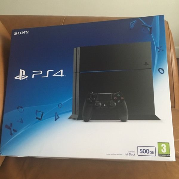 Brand new Play station 4 unopened box