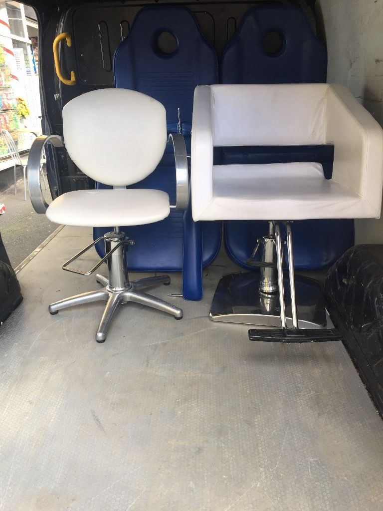 2 salon chairs