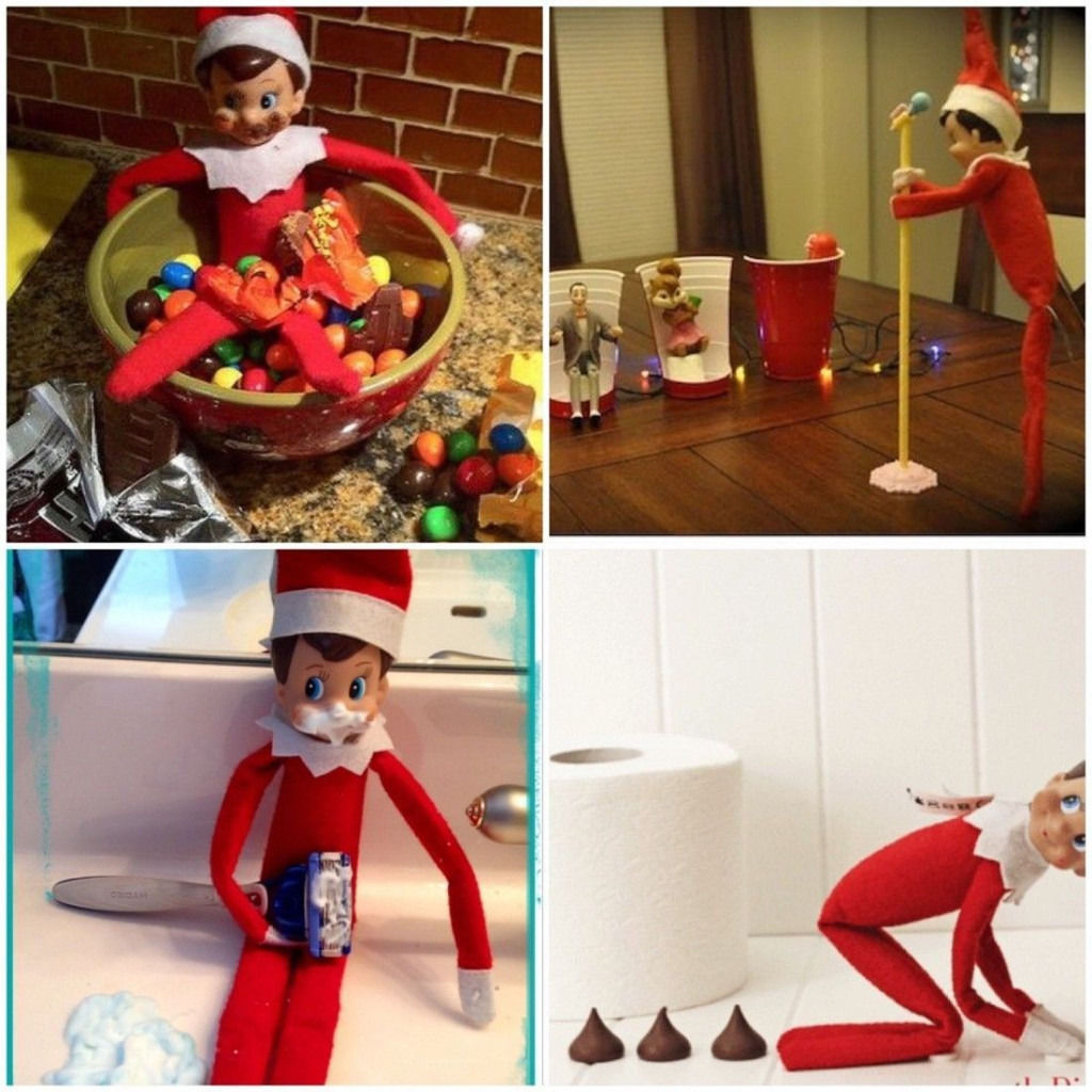 Elf on the Shelf. Christmas tradition. Xmas. Toy.