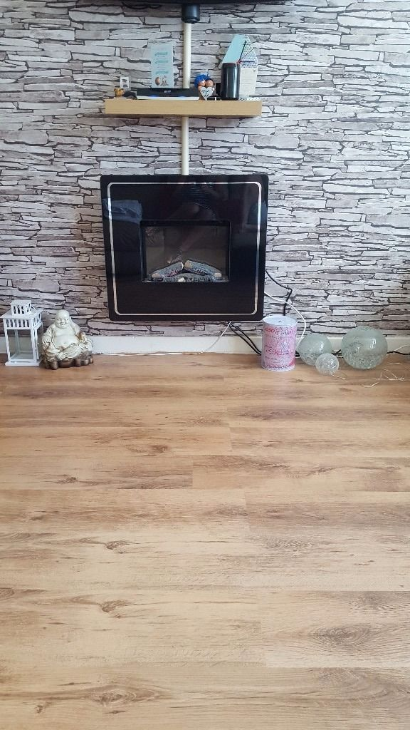 Wall fire, excellent condition
