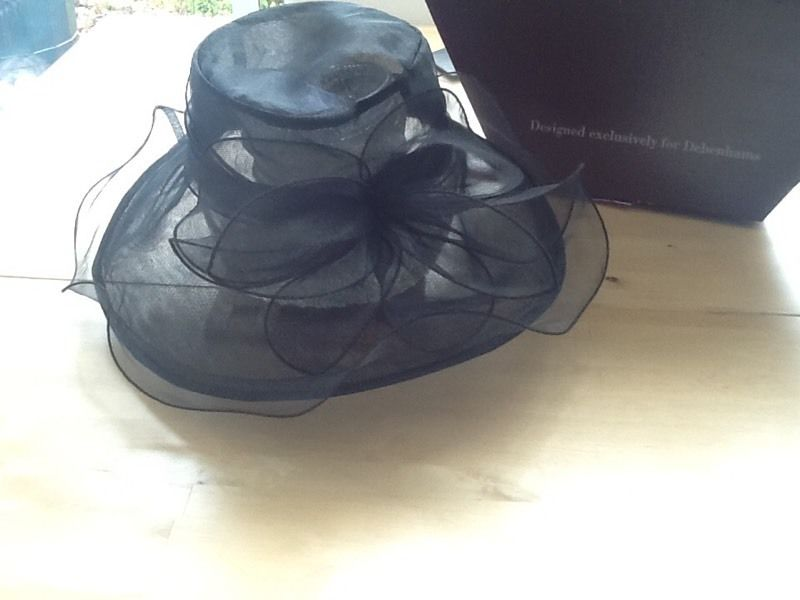 Two Wedding Hats and Hatbox