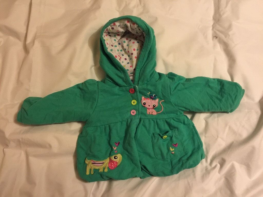 Girl's Jacket Size 6-9 Months