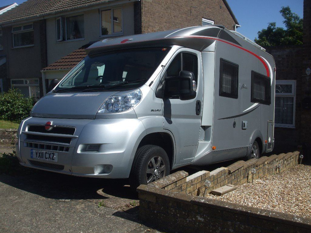 BURNSTER NEXXO MOTORHOME, 2 BERTH, FIXED BED, EXCELLENT CONDITION