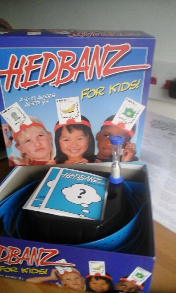 HEDBANZ FOR KIDS AGE 7 + for 2-6 players excellent condition