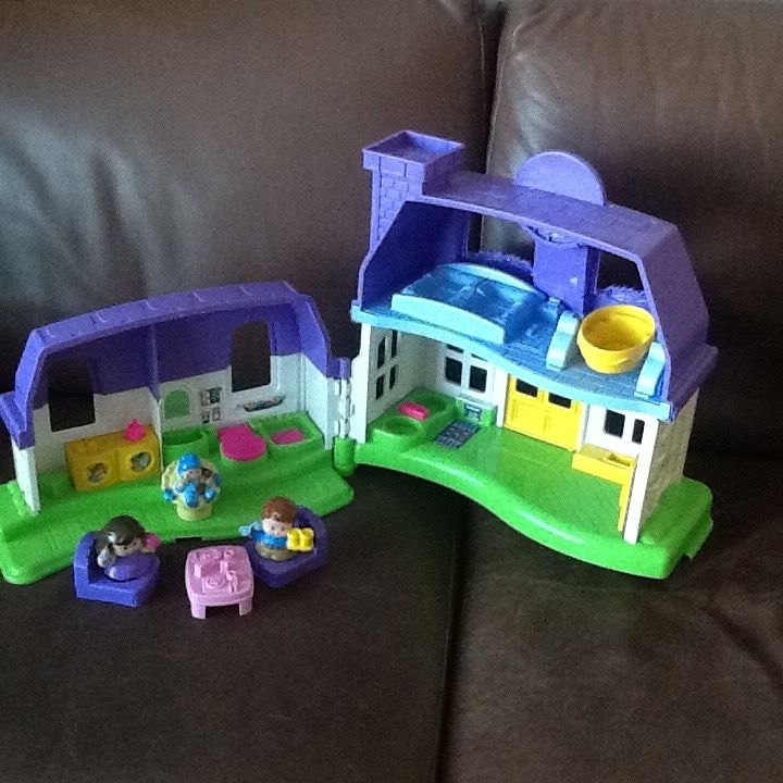 Fisher Price Little People doll's house (with working sounds)