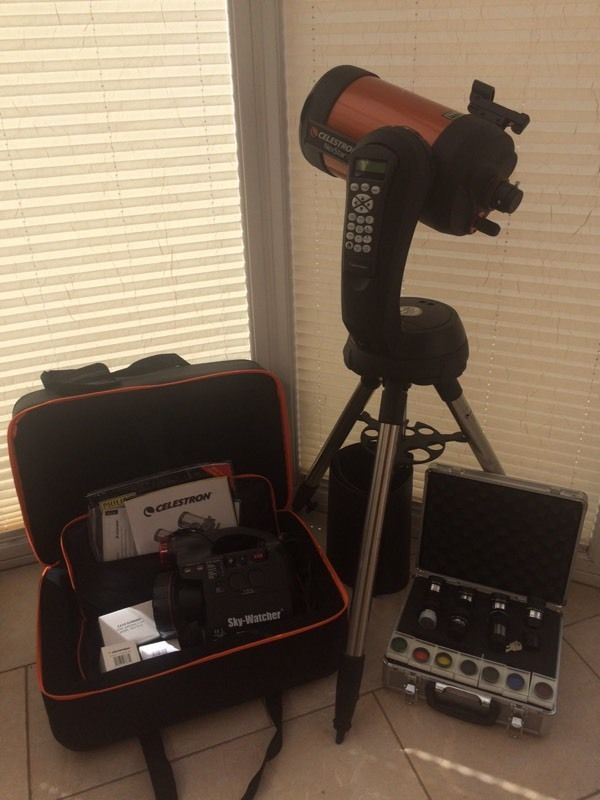 Celestron Nexstar 6se bundle as pictured