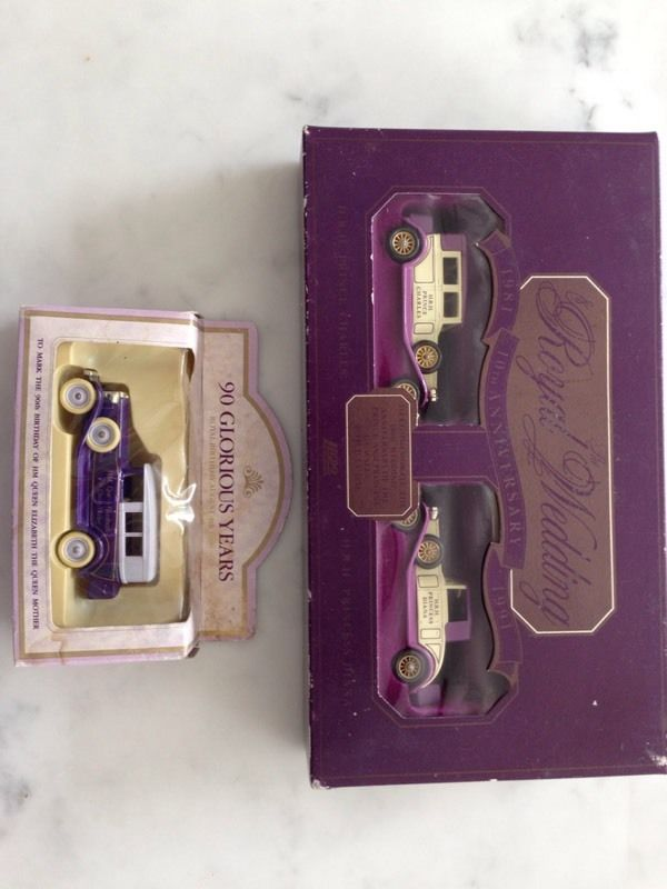 Royal Celebration Cars in original packaging