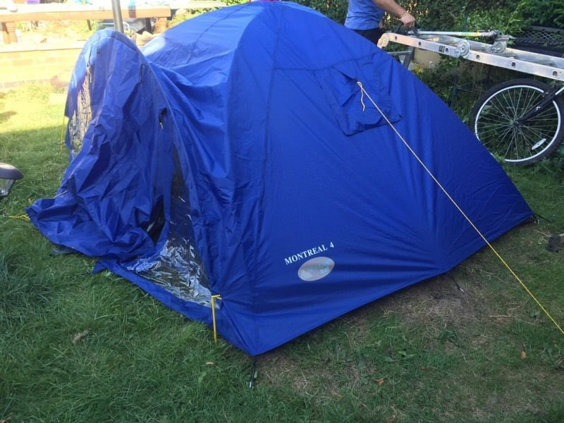 Highland trail montreal 4 persons tent
