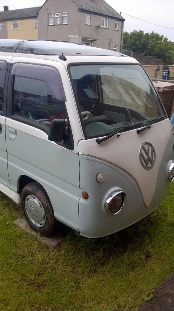 Mini Retro VW Camper Replica (Subaru Sambar), 1995 (M)