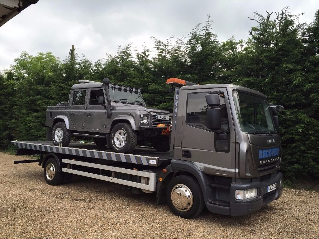 2007 IVECO EURO CARGO 12 TON TILT AND SLIDE RECOVERY TRUCK - LEZ COMPLIANT