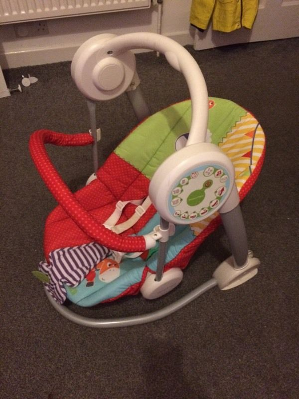 Mamas and papas musical baby swing chair