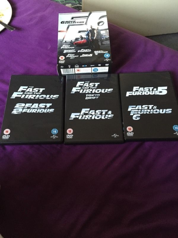 Fast and furious 1-6 collection