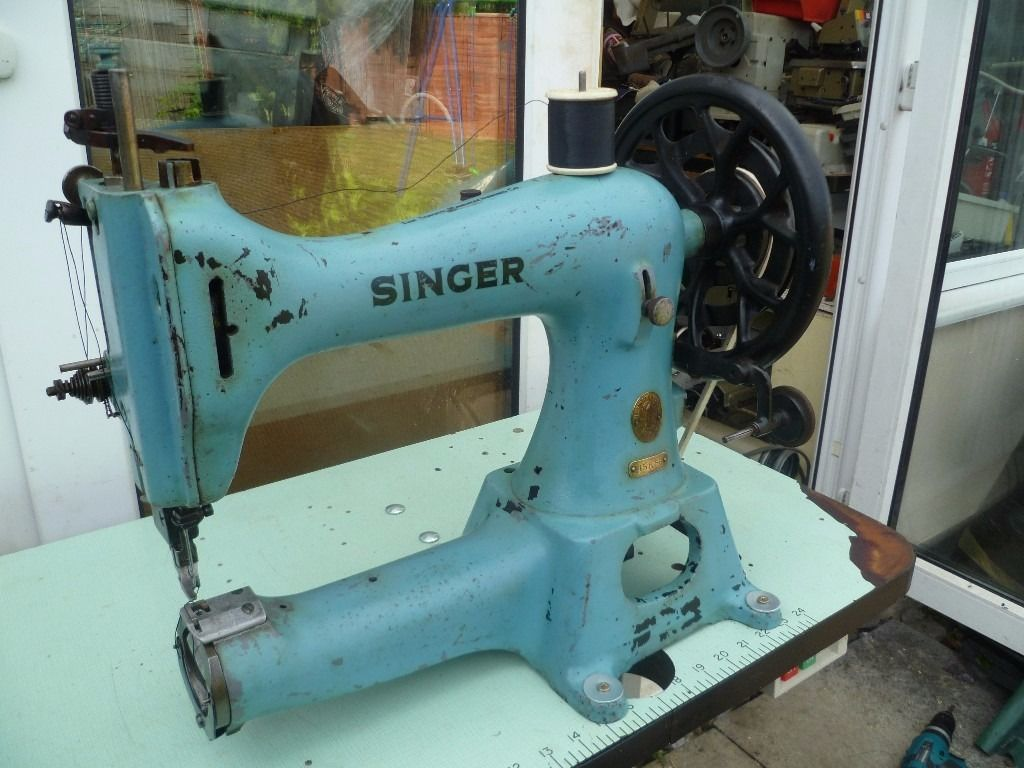HEAVY DUTY 45K CYLINDER ARM LEATHER SINGER SEWING MACHINE INDUSTRIAL