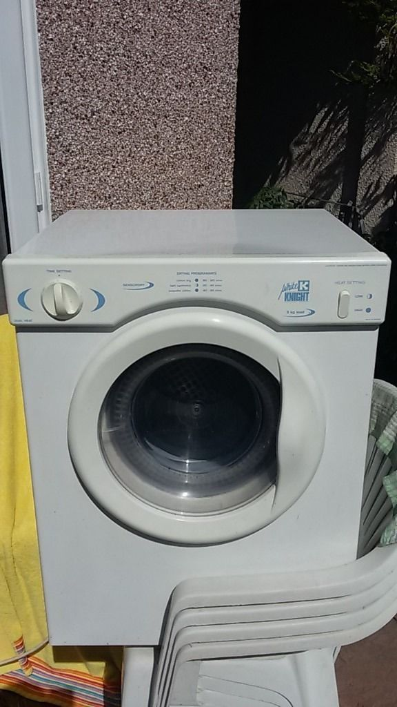 nice clean compact tumbo dryer