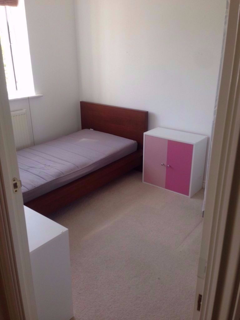 Single room in sociable house to rent. Garage, garden, nice neighbourhood