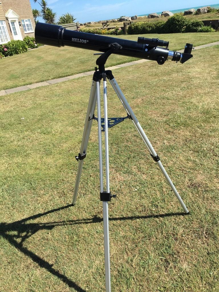 Telescope - Helios Refractor with AZ2 Mount - unwanted present only used once