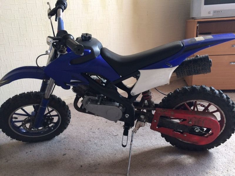 49cc off-road mini dirt bike