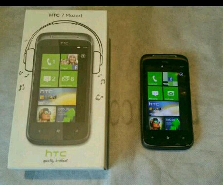 HTC 7 Mozart really good condition with Original box and charger