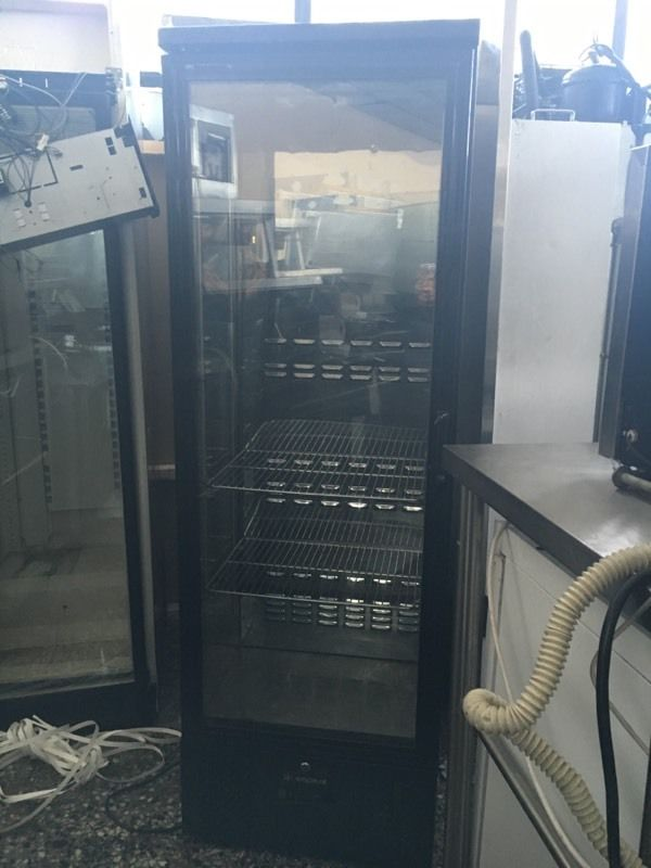 Capital cooling upright fridge bar