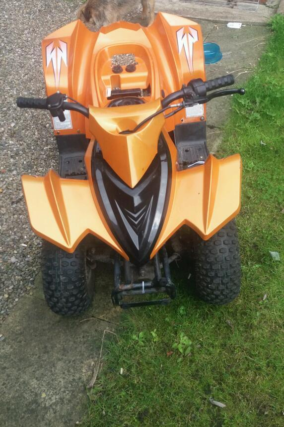 Childs 50cc atv