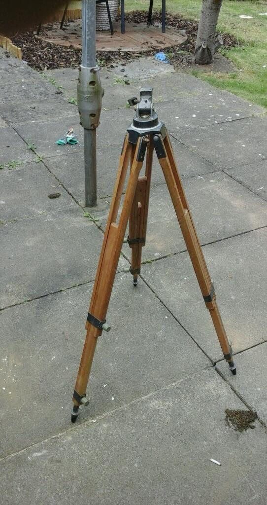 Vintage camera tripod fully working