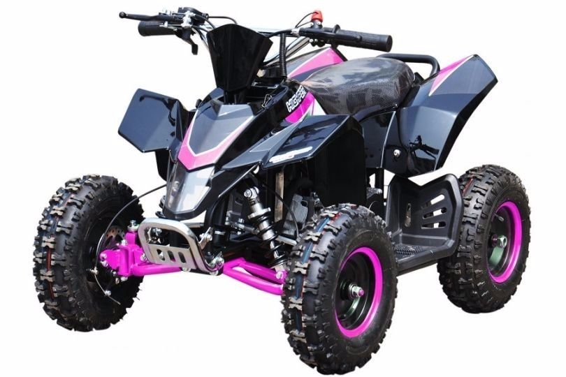 BRAND NEW FOR 2016! HAWKMOTO SX-49 KIDS 50cc RACING QUAD ALL COLOURS IGNITION & PULL START
