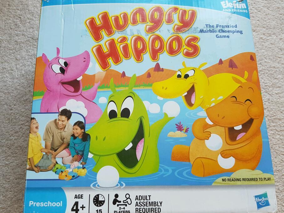 Hungry hippo's
