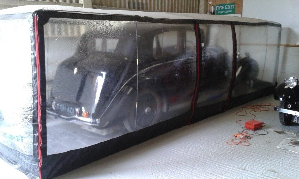 AIR CHAMBER - XXL to suit large car. Electric fans to maintain correct humidity etc
