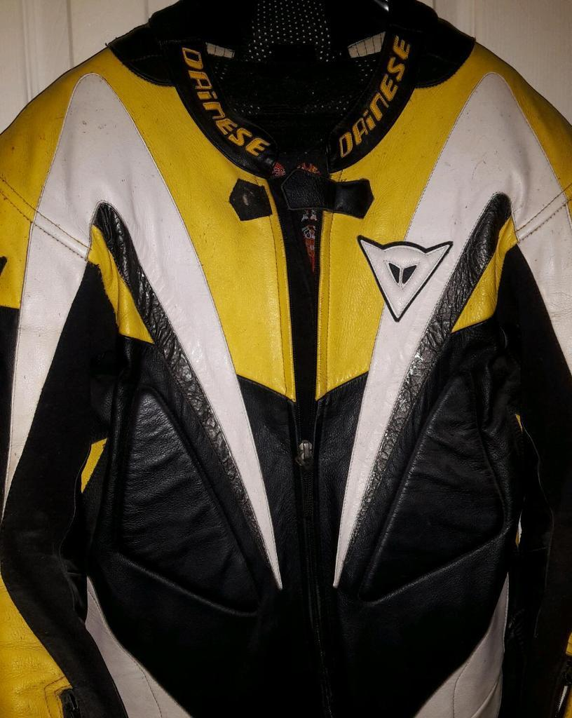 Dainese one piece leather race suit