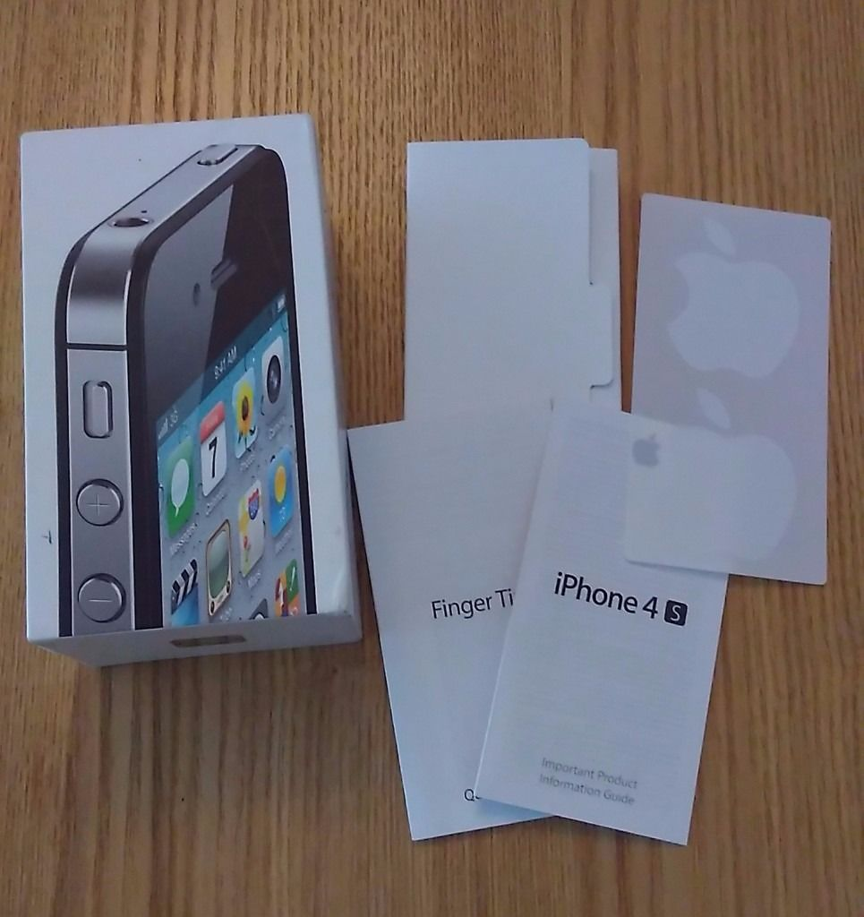 BOXES for Iphone 4S - Iphone 3S - Iphone